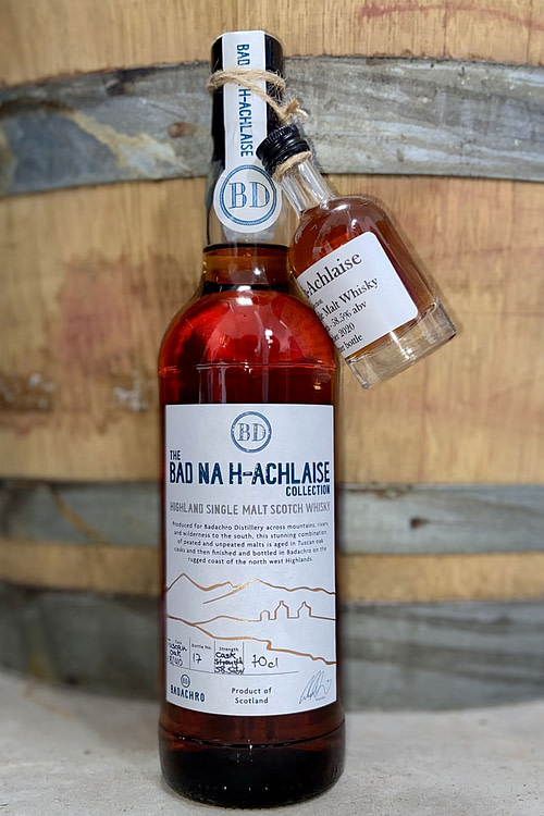 Cask strength - Bad na h-Achlaise Single Malt Whisky