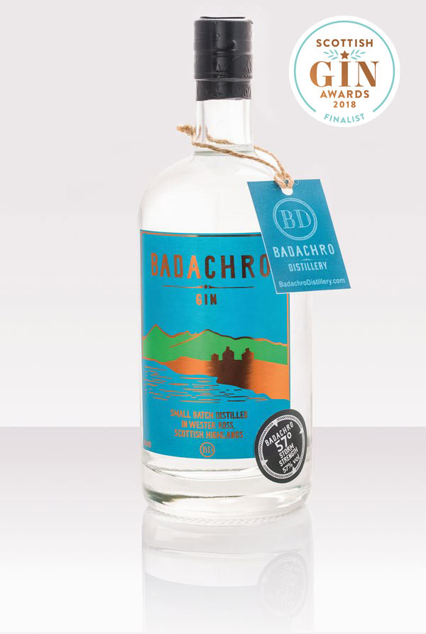 Badachro Storm Strength Gin is a new craft gin from the Scottish Highlands