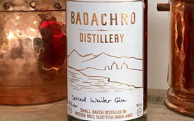 Spiced Winter Gin from Badachro Distillery released